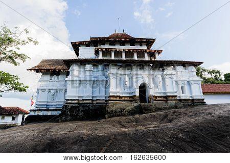 Lankatilake Temple Kandy Sri Lanka, Kandy era temple