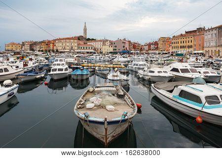 Croatia - Rovinj On Istria Peninsula.