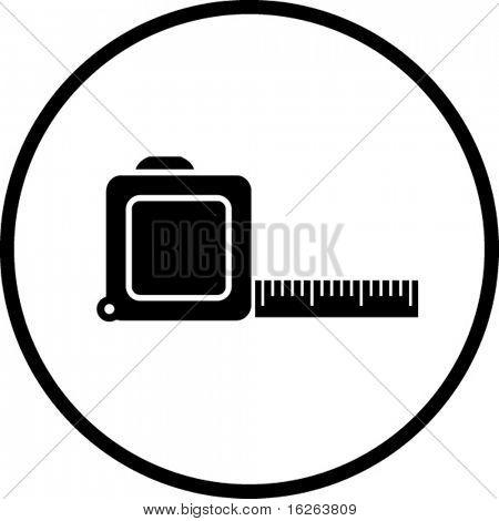 tape measure ruler symbol