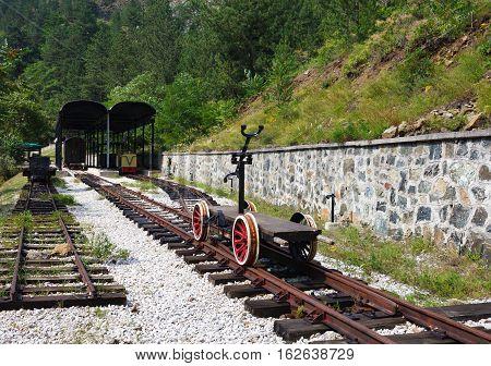 Old Railway Handcar