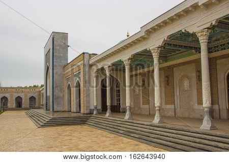 Tashkent, Uzbekistan - March 21, 2016: Memorial Complex Of Imam Al-bukhari
