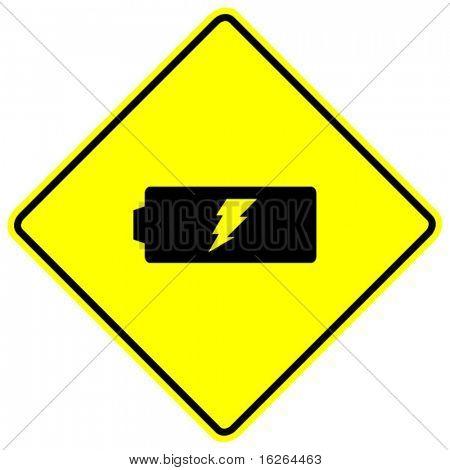 battery energy sign