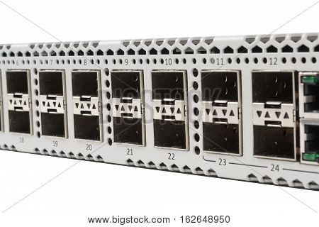 Gigabit Ethernet Switch With Sfp Slot