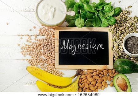 Products Containing Magnesium.