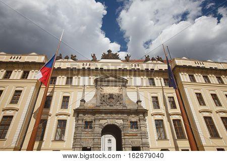 Old Royal Palace. Hradcany. Prague,