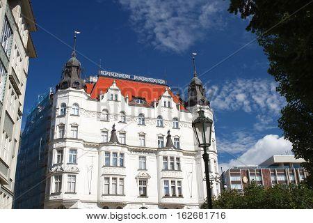 U Prvni Reduty Building The Jewish Quarter, Prague, Czech Republic