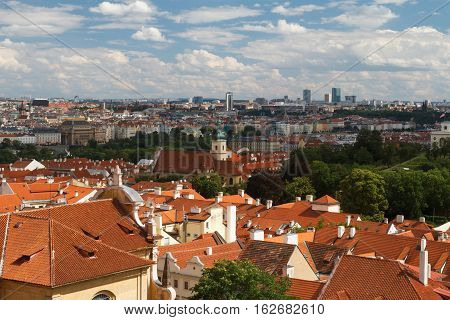Panorama Of Prague Little Quarter