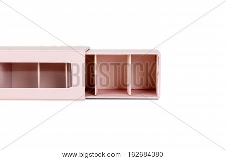 Pink Small Partitioned Box