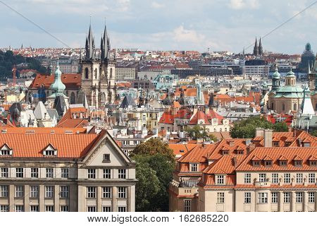 Stare Mesto (old Town) View, Prague,