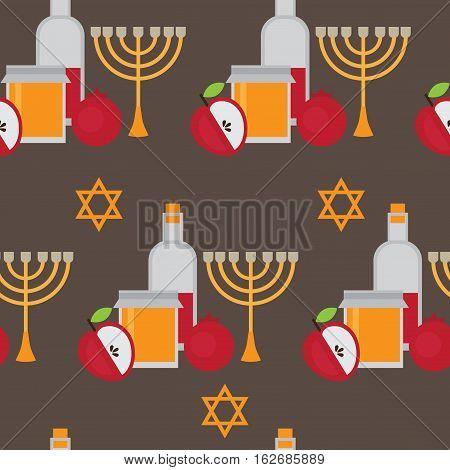 Rosh hashanah jewish new year vector photo bigstock rosh hashanah jewish new year greeting card hebrew symbols judaism elements judaic religion m4hsunfo