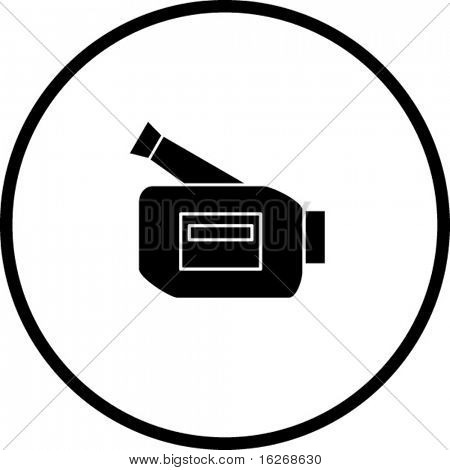personal video camera symbol