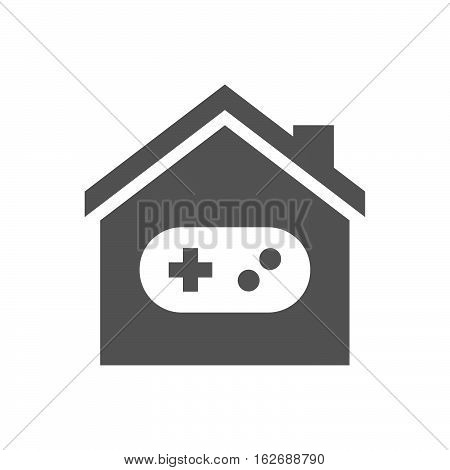 Isolated House With A Game Pad