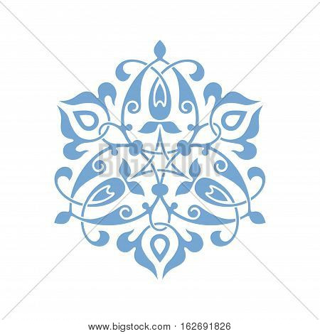 Traditional Arabic ornament seamless for your design. Floral Ornamental pattern. Iznik. Vector. Background