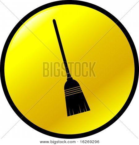 broom button