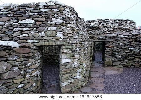 Fahan Bee Hive Hut Structures, Dingle Peninsula,