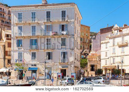 Corsica In Sunny Summer Day. Bonifacio