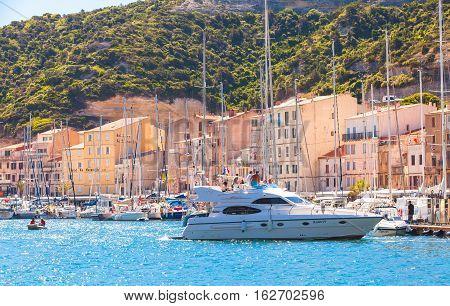 Marina Of Bonifacio, Corsica Island