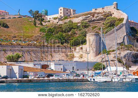 Ancient Coastal Citadel Of Bonifacio