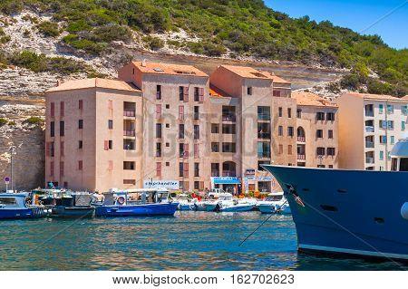 Bonifacio, Resort Port City Of Corsica