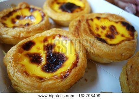Egg Tart Or Portuguese Egg Tart
