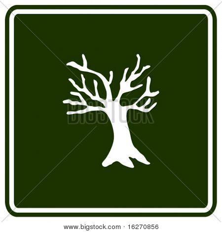 dead tree sign