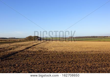 Patterns And Textures Of An Open Landscape
