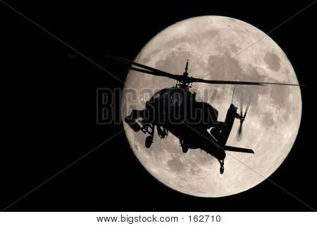 Apache In The Moonlight