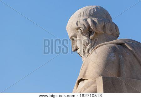 Classic Plato Statue