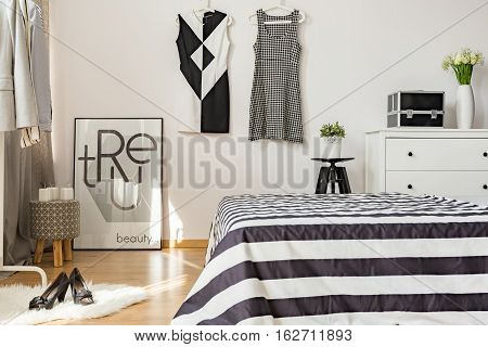 Up-to-date Decor Of Cozy Bedroom