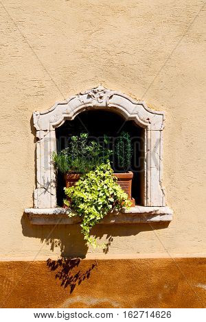 In Italy   Antique Historical  Window