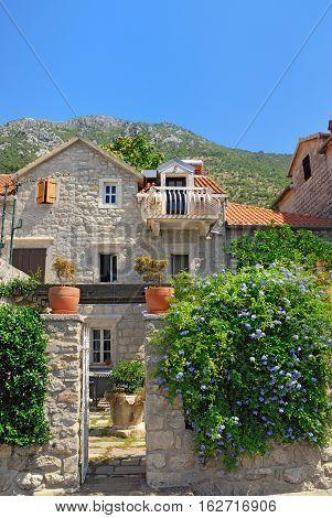 House In Perast, Montenegro