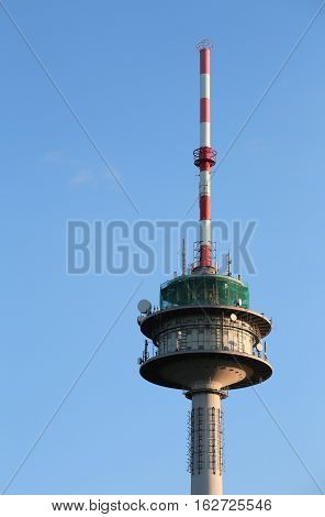 Radio Tower Of Wettersbach In Baden-wurttemberg, Germany