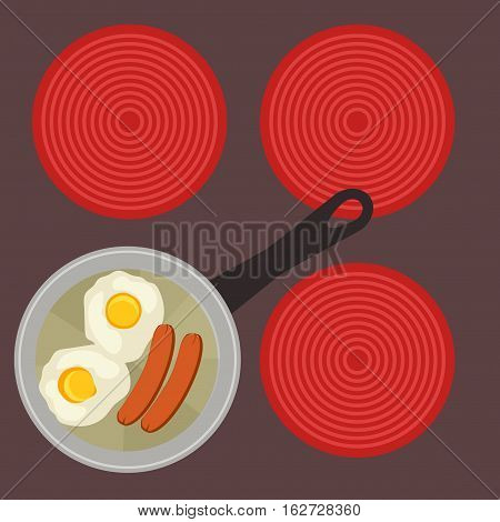English Breakfast - Fried Eggs