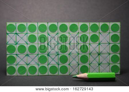 invisible New Year,green points,green pencil,welcome 2017 game