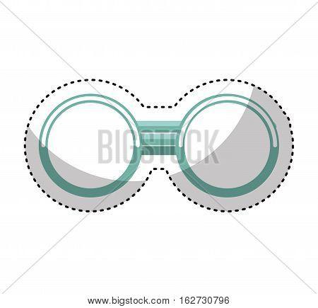 grandparent glasses isolated icon vector illustration design