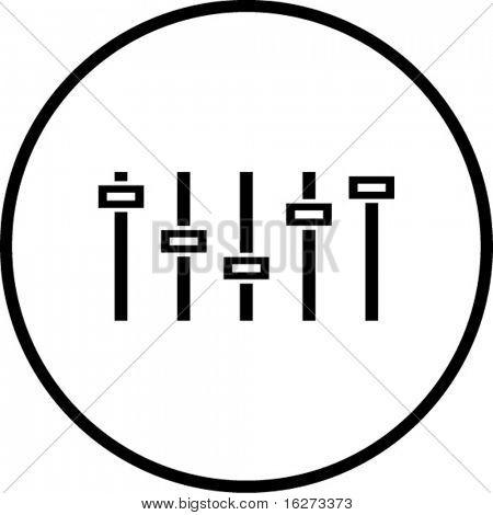 Grafik-Equalizer-symbol