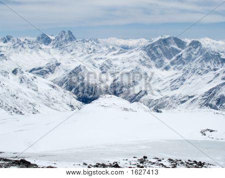 Mountains Landscape. Caucasus.