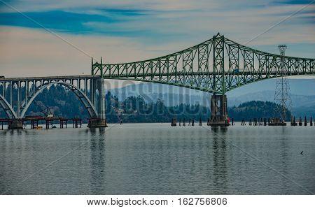 The Conde B. Mccullough Memorial Bridge
