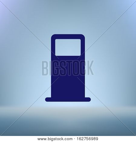 Petrol Refueling Station Vector Icon