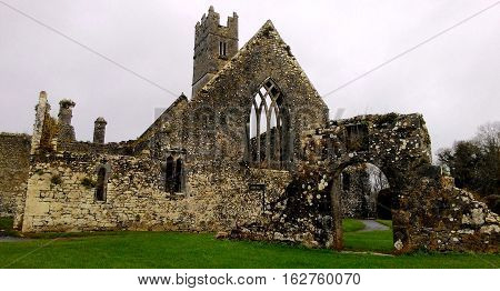 The Franciscan Friary on the Adare, Ireland