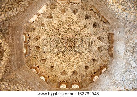 Interior Of Alhambra, Granada