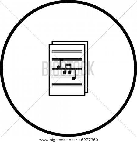 sheet music symbol