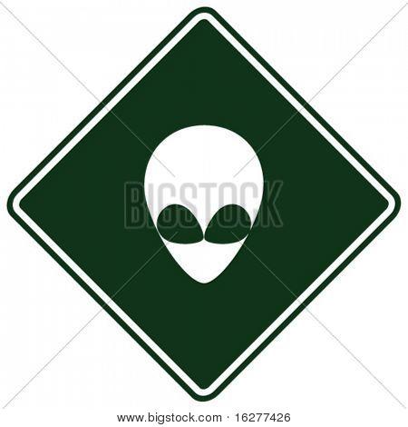 alien sign