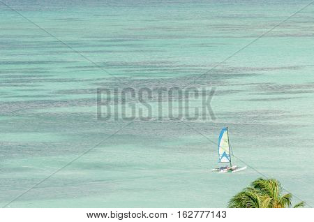 Summer Time In The Caribbean With Boats
