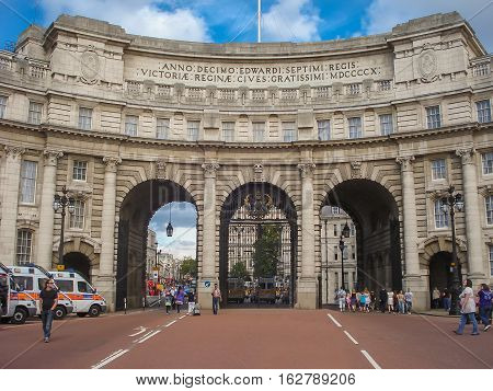 The Impressive And Impressive Admiralty Arch In London