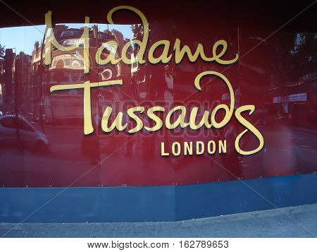The Building Detail Of Madame Tussauds In London