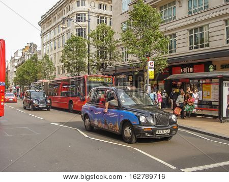 Tx4 Hackney Carriage, Also Called London Taxi