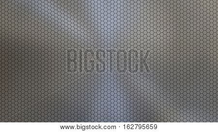 Textured Metal pattern Background, good for CGI, large insect eye shapes