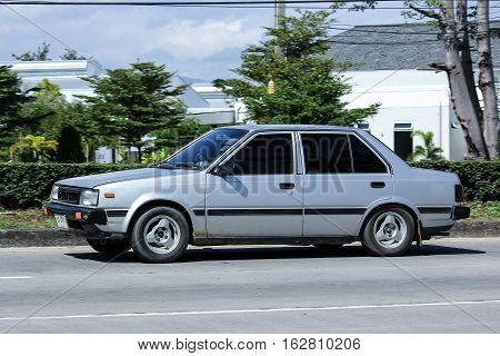 Private Old Car, Nissan Sunny.