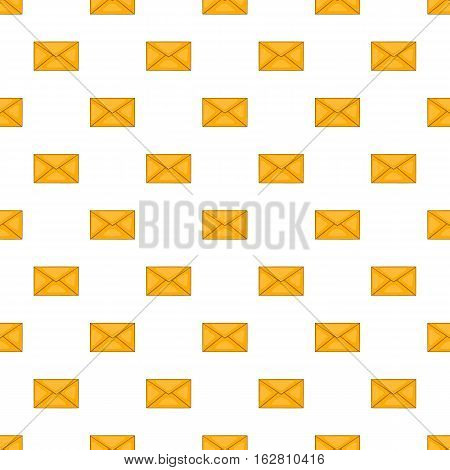 Envelope pattern. Cartoon illustration of envelope vector pattern for web